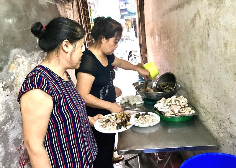 Cháo lòng Hà Nội,ẩm thực Hà Nội,địa điểm ăn ngon ở Hà Nội